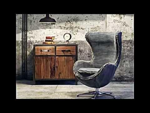 Designer Sessel verkleidet mit Jeansstoff -- Kreativität vom Feinsten