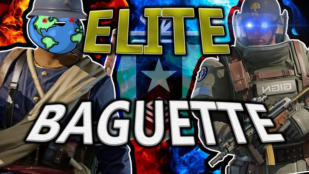 ELITE BAGUETTE BROTHERS - Rainbow Six Siege