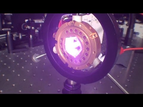 Test DONUT  103W COHERENT laser diode