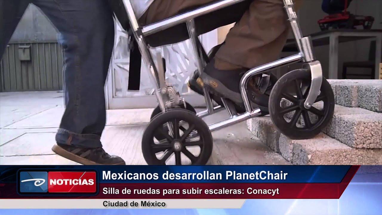 Cd de m xico mexicanos desarrollan planetchair silla de for Sillas ascensores para escaleras precios