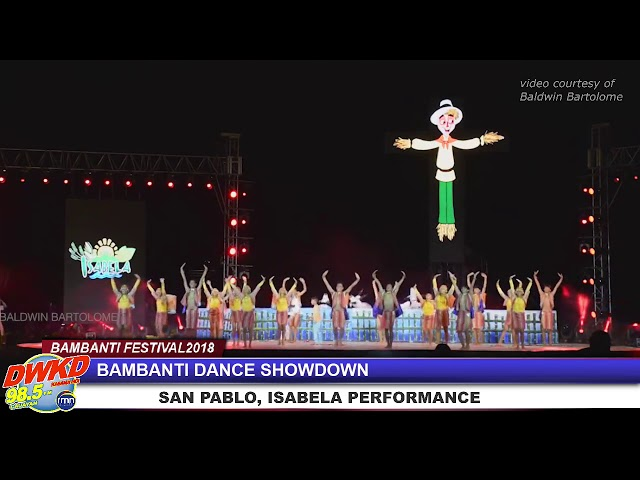 Bambanti Dance Showdown - San Pablo Isabela Performance