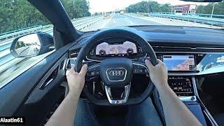 2020 Audi Q8 S Line | FULL Q8 50 TDI Quattro Drive Review Long + Acceleration Sound