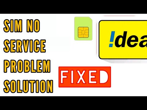 No Service Problem In Idea Sim Solution    How To Fix Idea No Service Problem Solved