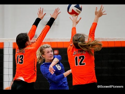 Boswell sweeps Aledo in 6-5A volleyball