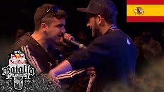 Red Bull Batalla de los Gallos – Batalla Final: ERRECE vs JADO - Semifinal Regional Barcelona 2016