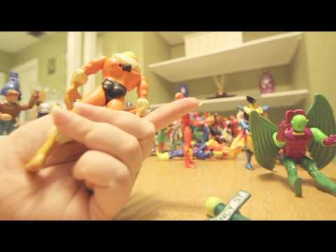 Toy ASMR - Action Figure Play and Sounds - Clicking and Whispering Relaxation