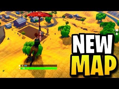 FORTNITE SEASON 5 MAP: *NEW* LOCATIONS & MAP CHANGES! (Fortnite: Battle Royale)