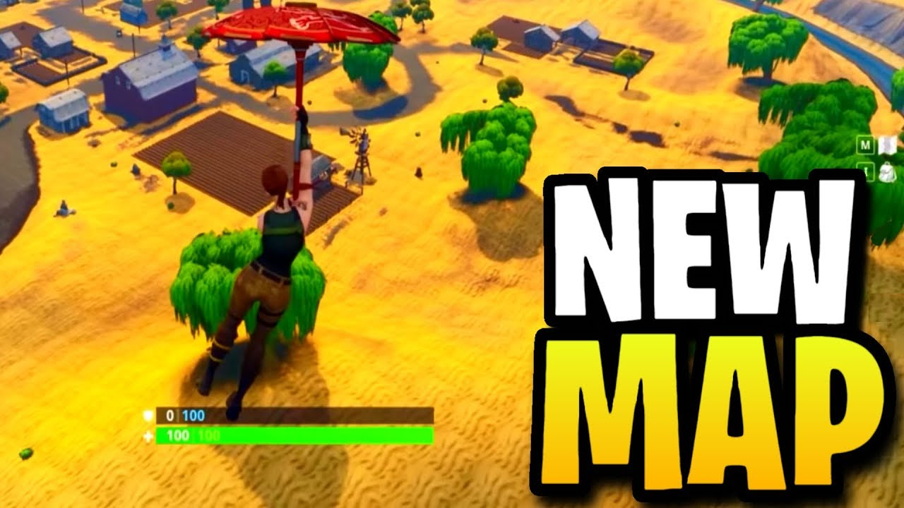 Fortnite Season 5 Map New Locations Map Changes Fortnite