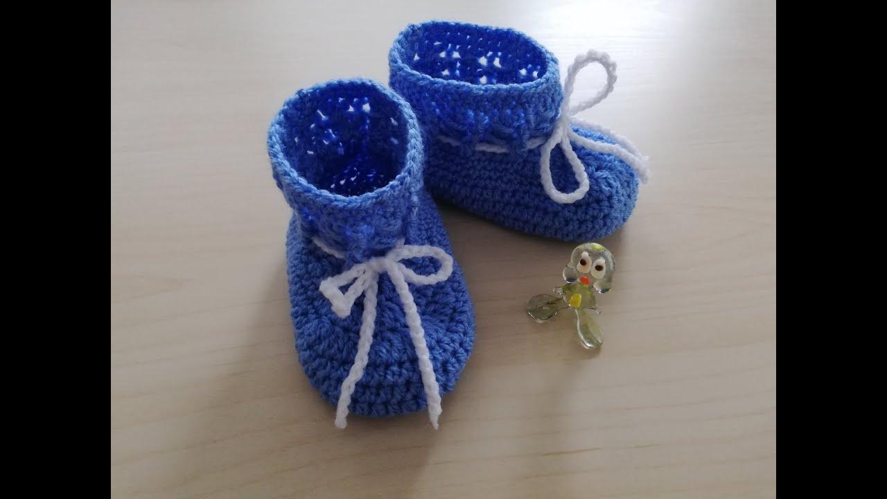 Botitas azul claro