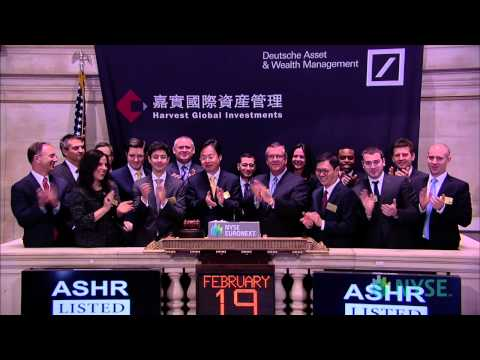 Deutsche Asset Wealth Management Visits the NYSE