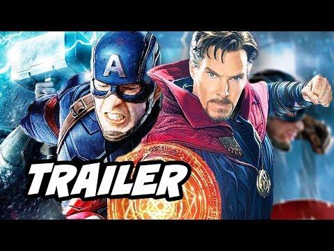 Doctor Strange Avengers Infinity War Multiverse Teaser Trailer Breakdown
