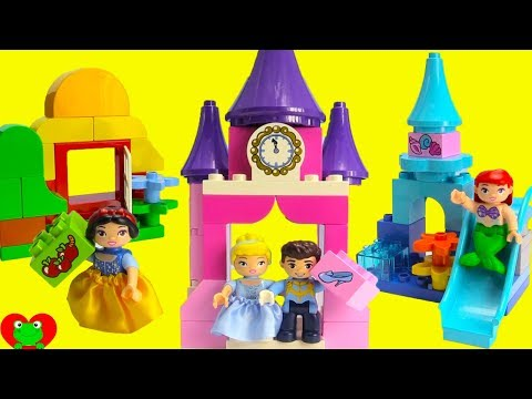 Disney Princess Lego Duplo Prince Charming Finds His Princes