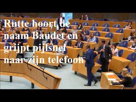 Rutte en Buma zijn bang voor Baudet met analyse