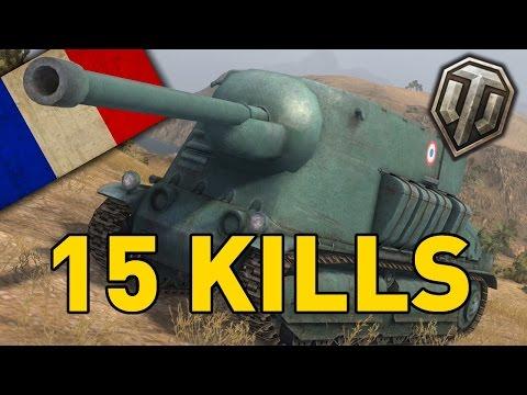 World of Tanks || 15 KILLS - Bathtub!