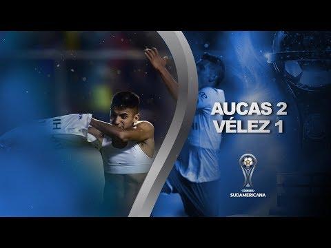 Aucas Velez Sarsfield Goals And Highlights