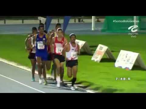 Juegos bolivarianos 2017 Final 5000 metros planos