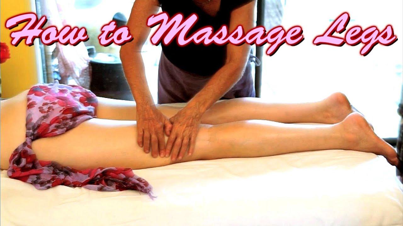 World S Best Leg Massage Techniques How To Massage