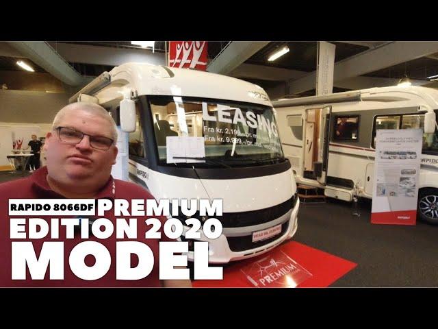 Rapido 8066df Premium Edition 2020 model