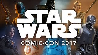 Star Wars at the Sideshow Booth - SDCC 2017