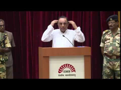 Dr Subramanian Swamy speech at Indian Institute of Management (IIM) Bangalore