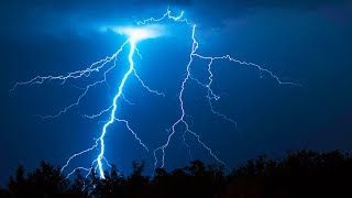 Thunder with Rain Sounds on Roof | Sleep, Study, Relax | White Noise 10 Hours thumbnail