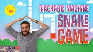 Teachable Machine 2: Snake Game