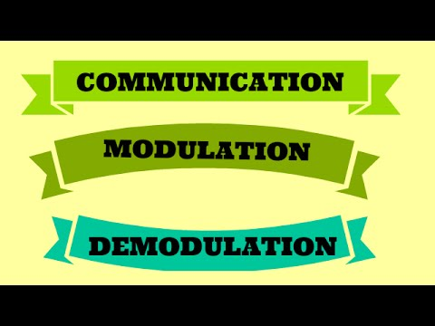 COMMUNICATION | MODULATION | DEMODULATION |BSNL JE(TTA) |JTO |ENGINEERING EXAMINATIONS