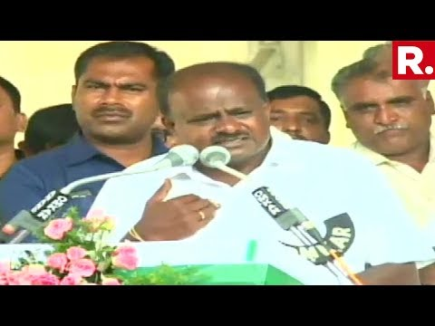 Karnataka CM H.D Kumaraswamy Breaks Down Again, Complains About Coalition Compulsion And Media