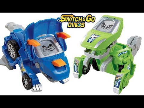 VTech Switch /& Go Dinos Tonn the Stegosaurus Dinosaur FREE SHIPPING