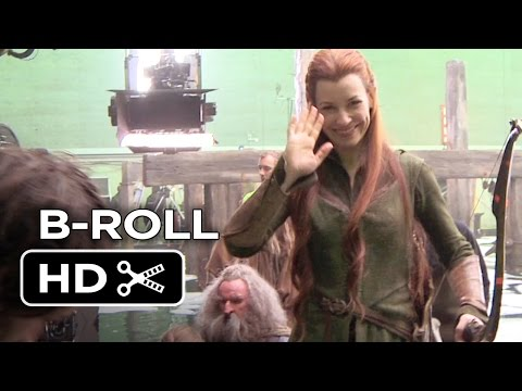 The Hobbit: The Battle of the Five Armies B-ROLL 1 (2014) - Evangeline Lilly Movie HD