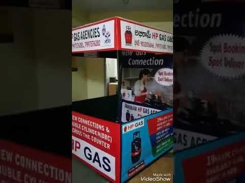 HP GAS Marketing Tent Model