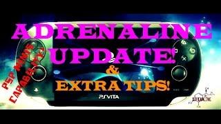 ADRENALINE Fix2 Update! PSP Mini! Guide on Transferring ISO/CSO, Change Game ID!!! PSVita 3.60