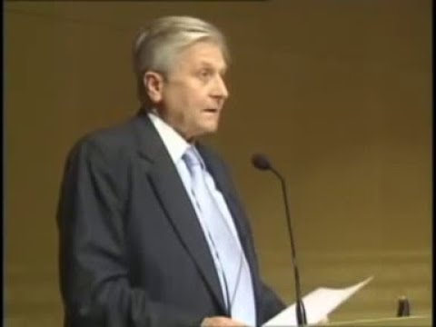 "Jean-Claude Trichet: ""Shaping a New World: Economic Crisis and Global Governance"""
