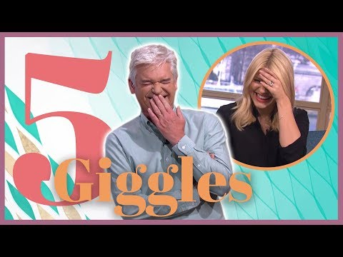 Top 5 Times Holly and Phillip Got the Giggles! | This Morning