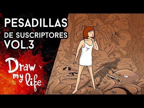 Las PESADILLAS más ATERRADORAS de SUSCRIPTORES - Draw My Life en Español