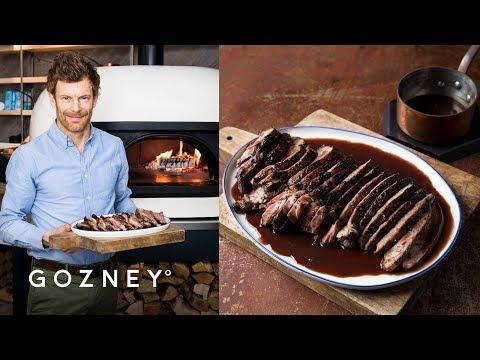 Butterflied Leg Of Lamb In Red Wine | Guest Chef: Tom Aikens | Gozney