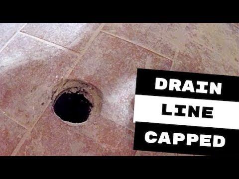 Drain Line Ced In Concrete Floor