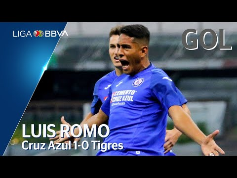 Cruz Azul [1] - 0 Tigres (L. Romo 8')