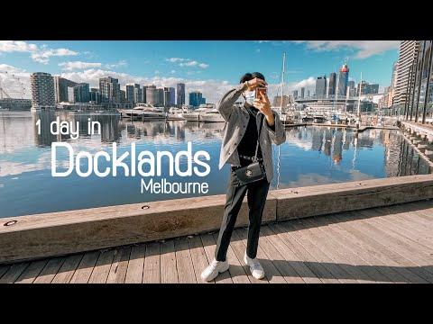 1 Day in Dockland Melbourne | 1 วันในท่าเรือด็อคแลนที่ออสเตรเลีย หาที่ถ่ายรูปกันเถอะ?!