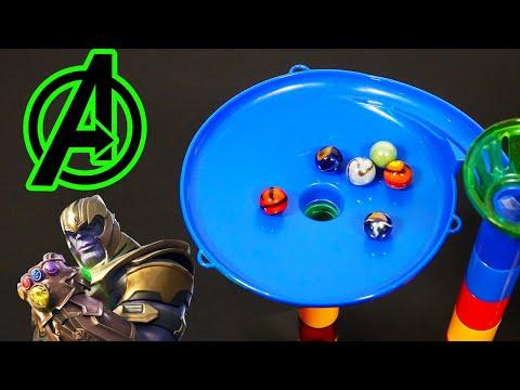 Avengers Endgame Marble Race Elimination Tournament
