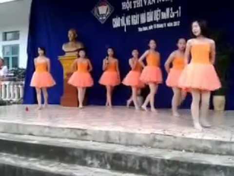 hát múa giấc mơ thần tiên THCSTTNQ