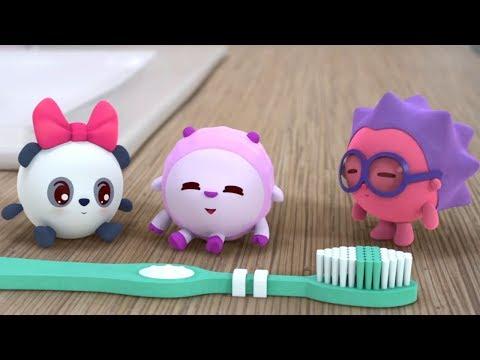 Малышарики - Щётка (Серия 84) Развивающие мультики для самых маленьких