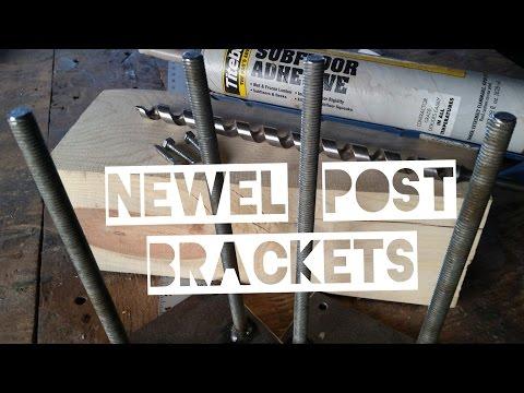 Newel Post Brackets Made Easy