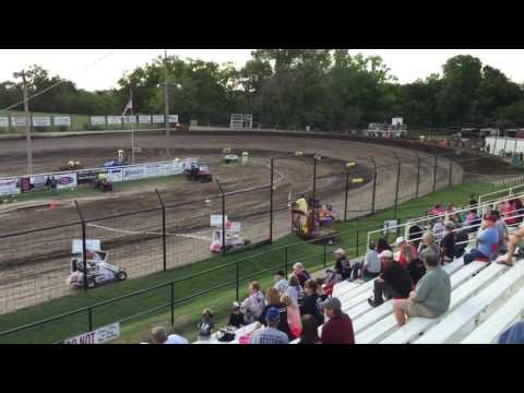 Joshua Gentry Heat Win Port City Raceway 8-20-16