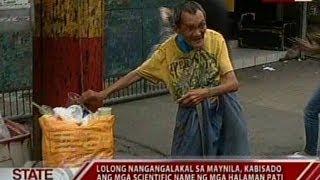 SONA: Lolong nangangalakal sa Maynila, kabisado ang mga scientific name ng mga halaman