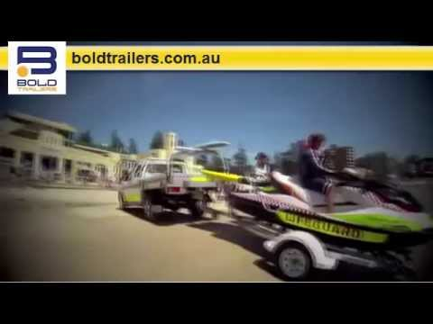 Sutherland Shire Council Launch Jet Ski From Modified Reverse Trailer