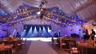 Ekskluzywne wesele w hali namiotowej