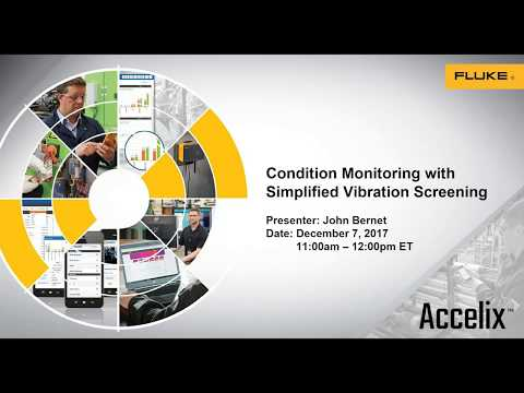 Best Practices Webinar: Condition Monitoring with Simplified Vibration Screening
