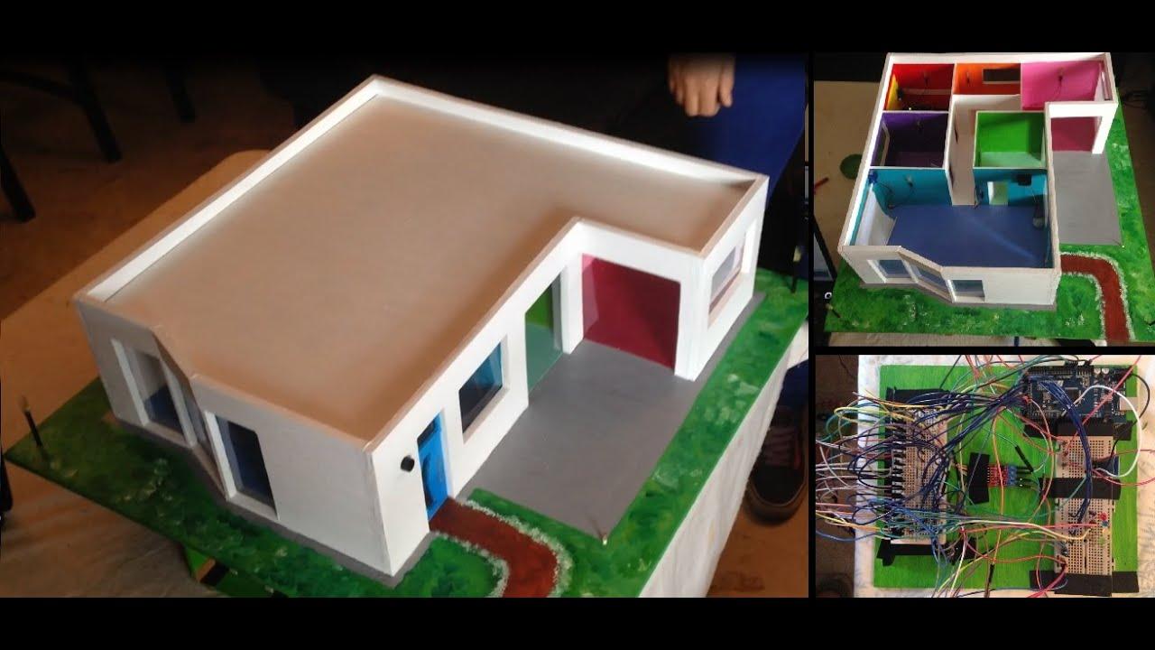 Proyecto casa dom tica automatizada youtube for La casa domotica