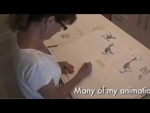 Ann Telnaes: Animated Editorial Cartooning Process